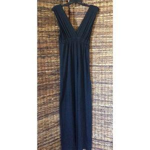 Gypsy 05 Black Organic Cotton Dress – Size Small